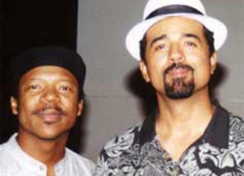 John Santos and Kenney Polson